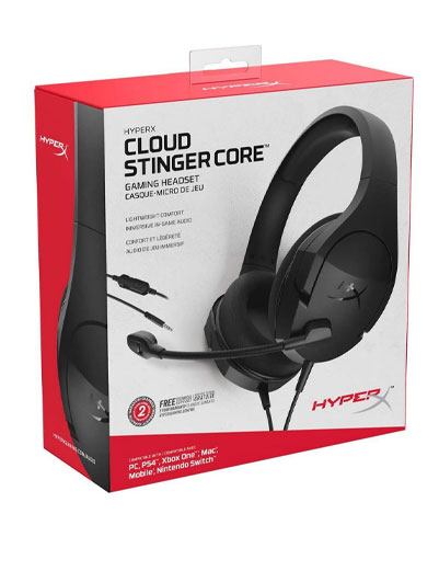 Headset-Gamer-HyperX-Cloud-Stinger-Core-PC-PS4-Xbox-One-Switch-e-Mobile