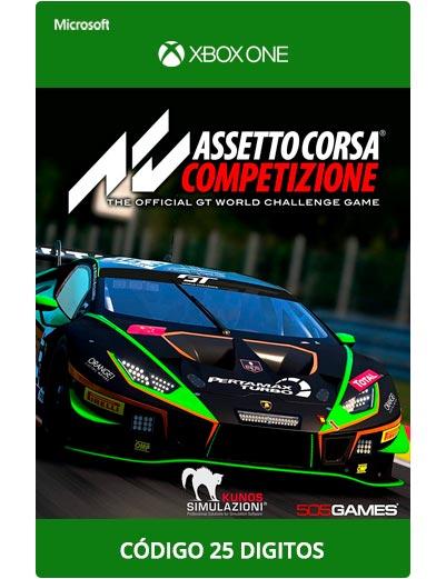 Assetto-Corsa-Competizione-Xbox-One-Codigo-25-digitos