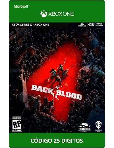 Back-4-Blood-Xbox-One-Codigo-25-digitos