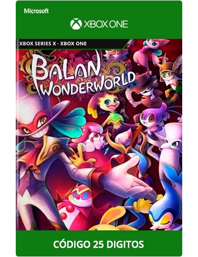 Balan-Wonderworld-Xbox-One-Codigo-25-digitos