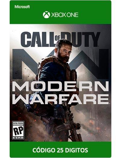 Call-Of-Duty-Modern-Warfare-Xbox-One-Codigo-25-digitos