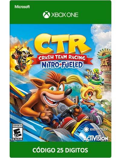 Crash-Team-racing-Nitro-Fueled-Xbox-One-Codigo-25-digitos
