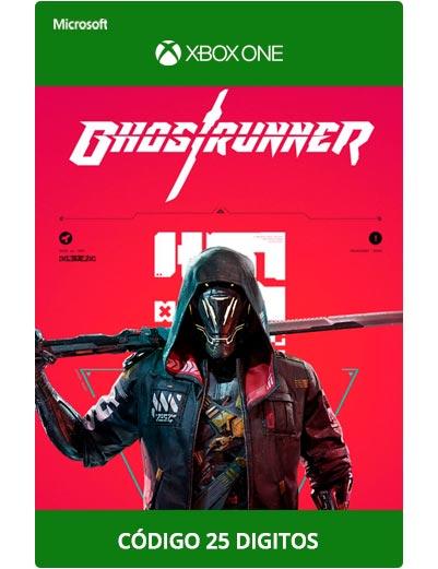 Ghostrunner-Xbox-One-Codigo-25-digitos