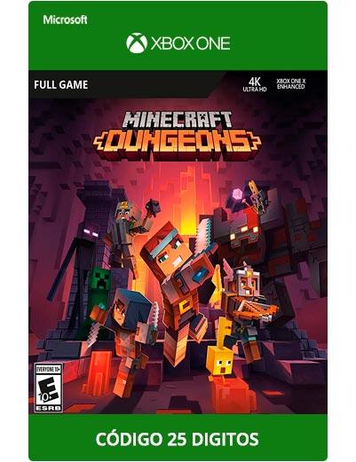 Minecraft-Dungeons-Xbox-One-Codigo-25-digitos