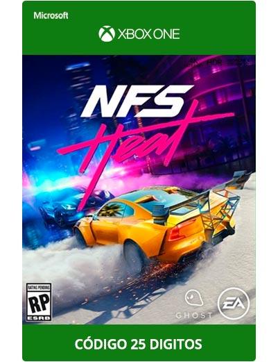 Need-For-Speed-heat-Xbox-One-Codigo-25-digitos