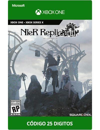 Nier-Replicant-Xbox-One-Codigo-25-digitos
