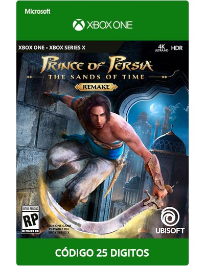 Prince-Of-Persia-The-Sands-of-Time-Xbox-One-Codigo-25-digitos