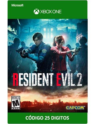 Resident-Evil-2-Xbox-One-Codigo-25-digitos