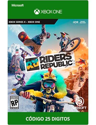 Riders-republic-Xbox-One-Codigo-25-digitos