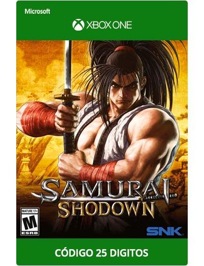 Samurai-Shodown-Xbox-One-Codigo-25-Digitos