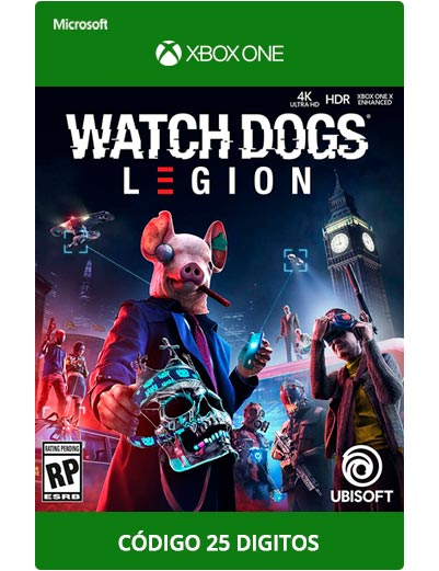Watch-Dgos-legion-Xbox-One-Codigo-25-digitos